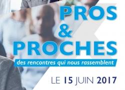 """Invitation aux rencontres """"Pros & Proches"""" de la Banque Populaire Rives de Paris"""